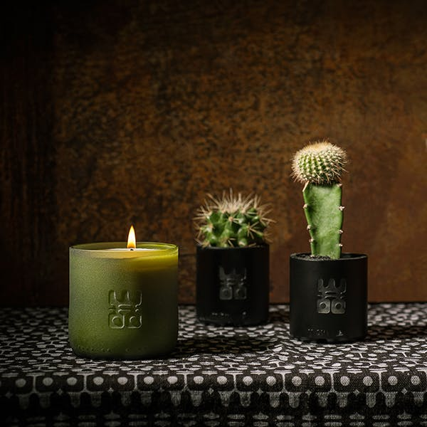 WOO Lucky Candle Matt Green – L